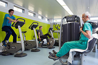 Trainingscenter Physiotherapie im SZB